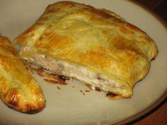Pavé de saumon et champignons en feuilleté, Recette par Mirette-aux-fourneaux - Ptitchef