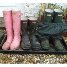 Muddy Boot Tray - Dirt Trapper - Out of Eden Boot Tray, Garden Shop, Hunter Boots, Rubber Rain Boots, Trays, Wren, Shoes, Reception, Cottage