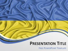 Free powerpoint template with flag of kenya background free powerpoint template with flag of ukraine background toneelgroepblik Image collections
