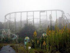 Takakanonuma Greenland, Japan    Abandoned amusement park.