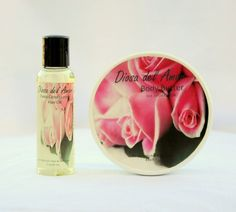Diosa del Amor Hair Oil & Body Butter Gift Set by For My Girl's Hair & Skin Care