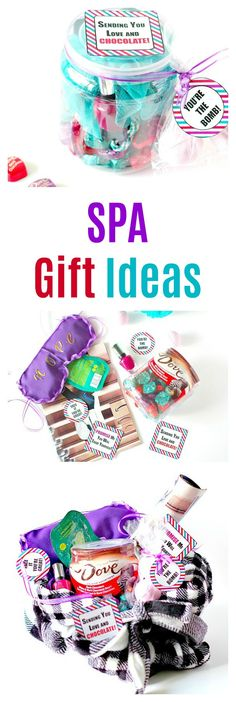 Spa Gift Ideas with