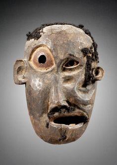 Masque de maladie - Makondé Parcours des mondes- ewposition guerison