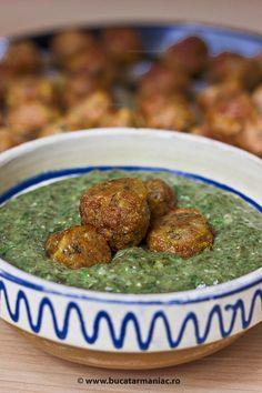 Spanac cu chiftele • Bucatar Maniac • Blog culinar cu retete