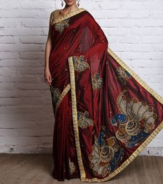 Kalamkari sarees by Urban Pari #kalamkari #fashion #ethnic
