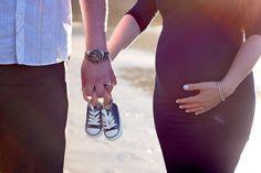 Maternity Photography - Baker Beach San Francisco California Viktoriya's Photography