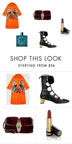 """""""Zebra#1"""" by ionut123 ❤ liked on Polyvore featuring Gucci"""