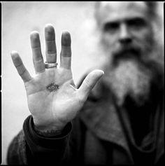 Daniel Higgs portrait by photograher Alberto Polo.