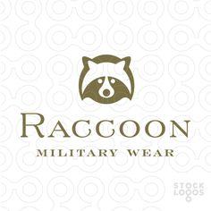 Exclusive Customizable Logo For Sale: Raccoon   StockLogos.com