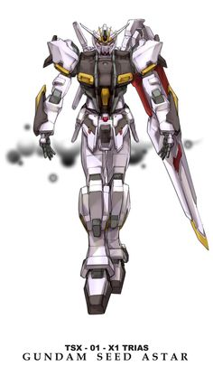 Gundam TSX-01-X1 TRIAS - 10 -2 by csy5150