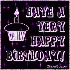 Happy Birthday Rainbow Stars Cupcake Glitter Graphic, Greeting, Comment, Meme or GIF 17th Birthday Quotes, Birthday Quotes For Girlfriend, Birthday Greetings For Boyfriend, Birthday Wishes For Lover, Happy Birthday Wishes Quotes, Happy Birthday Greetings, Happy Birthday Rainbow, Happy Birthday Nephew, Birthday Star