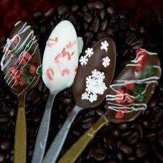 "I absolutely love making these little wonders, and they are perfect for stirring coffee, hot chocolate or even steamed milk. They are super simple to make, and are the perfect gift for that coffee drinker in your life. What you need: Plastic Spoons (if you are trying to ""go green"" then purchase"