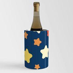Stars in the Night Sky Wine Chiller Wine Chillers, Night Skies, Sky, Cool Stuff, Stars, Bottle, Heaven, Heavens, Flask