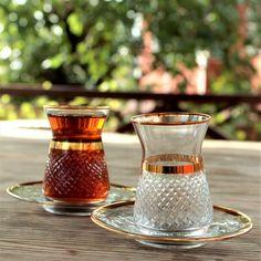 Arabic Tea, Turkish Tea, Glass Tea Cups, Tea Glasses, Unique Gifts For Her, Copper Color, Tea Cup Saucer, Armenian Culture, Tea Sets