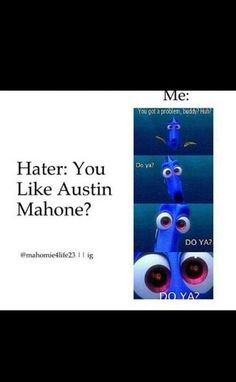 My brother just started hating on Austin. agh my little brother is just annoying. He hates on everything I like. but no he can sit and play video games all day and if he talks about it I have to listen to him!!
