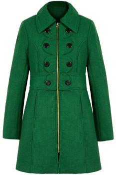 Resultado de imagen de green coat