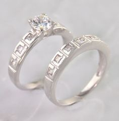 #cubic zirconia #engagement #rings
