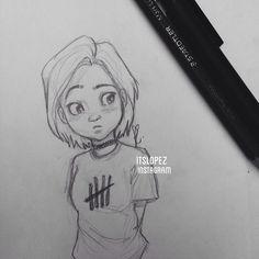 Laia López @itslopez Doodling on the t...Instagram photo | Websta (Webstagram)
