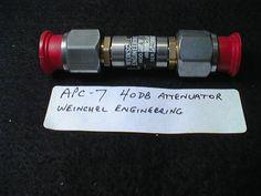 Attenuators, 40 dB Weinschel Engineering; part no. apc7-19