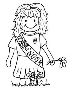 Image result for Daisy Girl Scout Coloring Pages