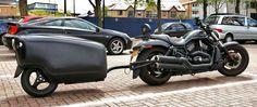 Mono-Trail TourMAX Single Wheel Motorcycle Trailer