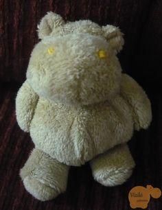 No. 123   víziló   plüss   kulcstartó   hippo   plush   keyring