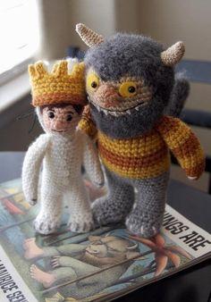 Items similar to Where the Wild Things Are MAX Amigurumi Crochet Pattern on Etsy Crochet Amigurumi, Amigurumi Patterns, Crochet Dolls, Crochet Patterns, Cute Crochet, Crochet Crafts, Yarn Crafts, Knit Crochet, Stuffed Animals