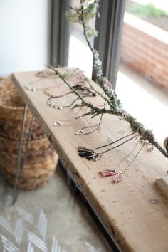 Console Table Reclaimed Wood Hairpin Legs Rustic Table by DendroCo, $180.00