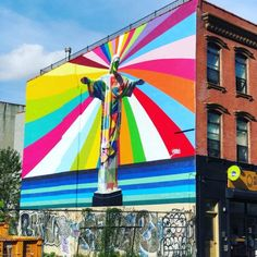 Kobra is a talented Brasilian artist who just painted a lot of murals lately in New York City. I tell you where to find them in this post! New York Street Art, Street Art News, Best Street Art, 3d Street Art, Graffiti O, New York Graffiti, Graffiti Lettering, Graffiti Artists, Street Art Banksy