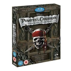 Pirates-of-the-Caribbean-1-4-Movie-Collection-BLU-RAY-COMPLETE-Box-Set-1-2-3-4