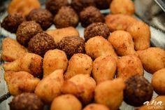 MIx de salgadinhos fritos linha festa. Buffet Mariana Cyrne Festeira 2015