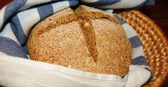 Katčina báječná kuchyně: Báječný domácí chléb s lněnými semínky a lískovými ořechy
