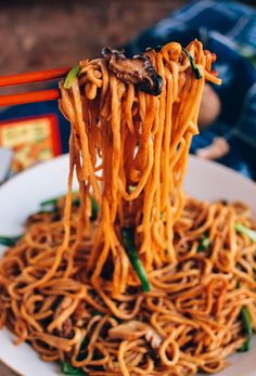 Long Life Noodles,   Delicious