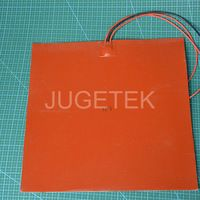 300*300mm Square silicone rubber heater pad