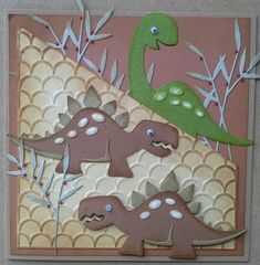 **New Die Cutter**DINOAURS*New Baby*Mothers Day*Birthday*Card*Topper* | eBay