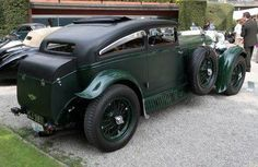 Bentley Speed Six Blue Train Special
