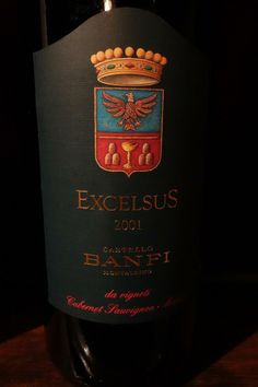 Excelsus, Castello~Banfi Tuscany, Italy