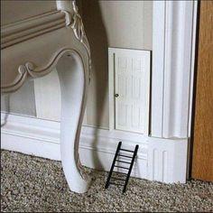 Mouse House Door