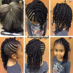 Black Little Girls Hairstyles 15 Braid Styles For Your Little Girl As She Heads Back To School