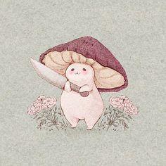 Pretty Art, Cute Art, Cute Drawings, Drawing Sketches, Frog Drawing, Random Drawings, Fuchs Illustration, Tattoo Illustration, Cute Illustration