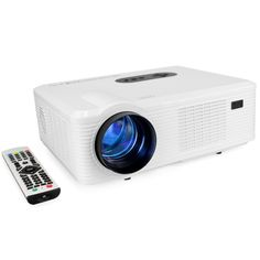 158.99$  Buy now - http://alin03.worldwells.pw/go.php?t=32659376284 - CL720 LED Projector 3000 Lumens 1280*800 Pixels With Analog TV Interface Projector For Home Entertainment Keystone Correction