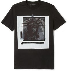 Givenchy Printed Cotton-Jersey T-Shirt | MR PORTER