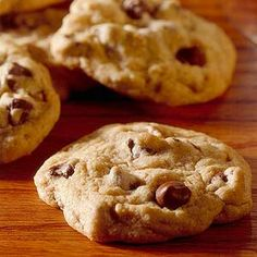 Food Processor Chocolate Chip Cookies Let your food processor do all the work mixing up a batch of these all-time cookie favorites.
