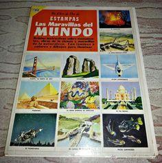 ALBUM COMPLETO. El libro de estampas Las Maravillas Del Mundo Ed. Novaro S.A. 1973 completo