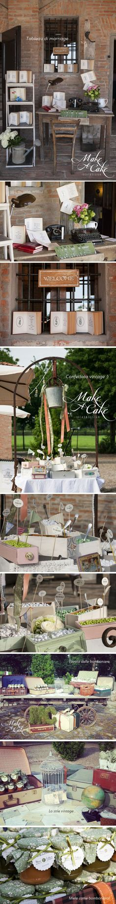 wedding details table customized green wedding inspiration favors you can find it at www.makeacake.it