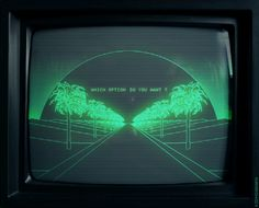All things cyberpunk; hi tech, low life. Vaporwave, New Retro Wave, Retro Waves, 80s Aesthetic, Cyberpunk Aesthetic, Aesthetic Green, Glitch Art, Animation, Pixel Art