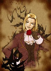 Keith Valentine Official Art Shadow Hearts