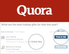 """Quora Gets Answers For Your Urgent And Mobile Questions By Suggesting You Ask Experts """"OnlineNow"""""""