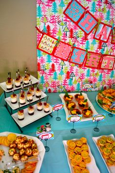 Kennedy's Winter Candyland Birthday Party
