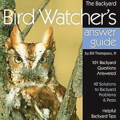 Backyard Bird Watchers Answer Guide Book